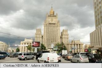 Rusia: Planul NATO de consolidare militară a flancului său estic este un element destabilizator