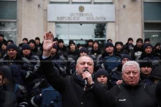Протест социалистов против правительства Филипа