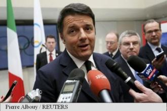 Matteo Renzi: Uniunea Europeană seamănă cu orchestra de pe puntea Titanicului