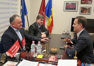 Игорь Додон встретился с Послом Италии в Республике Молдова Энрико Нунциата