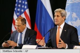Kerry: Acord la conferința asupra Siriei asupra
