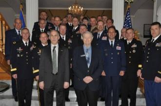 Группа военных генералов и адмиралов из США привезли в Молдову