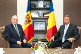 Iohannis: Așteptăm primii pași concreți din partea Chișinăului