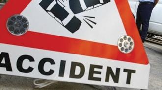 Accident grav cu implicarea unui maxi-taxi în Capitală