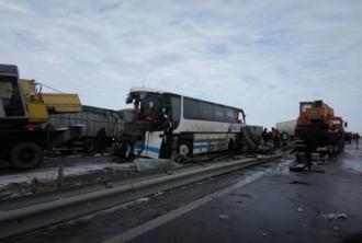 Trei moldoveni au murit într-un accident rutier produs în apropiere de Odesa
