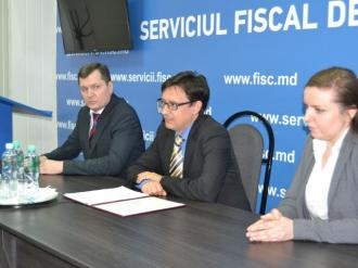 Serghei Pușcuță este noul șef al Inspectoratului Fiscal Principal de Stat