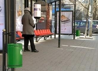 Peste o mie de coşuri de gunoi vor fi instalate în capitală