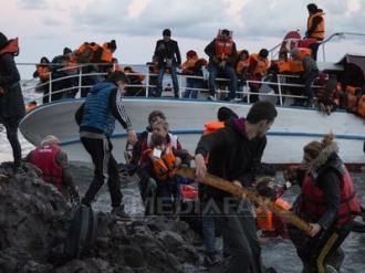 Peste 110.000 de refugiaţi au sosit în Europa începând din ianuarie