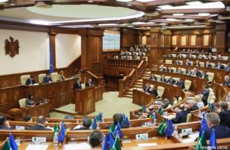 Parlamentul a adoptat declarația privind stabilitatea și modernizarea RM