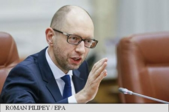 Tensiuni la Kiev: Premierul acuză tabăra președintelui Poroșenko de 'blocarea' reformelor