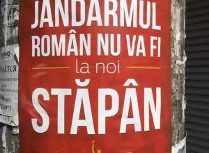 По всему Кишиневу расклеили антиунионистские лозунги