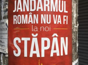 Postere cu mesaje antiunioniste au împînzit Chișinăul.