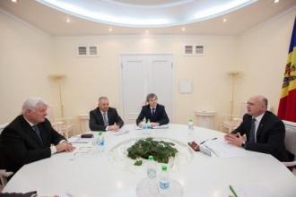 Ce au discutat vicepreședintele Gazprom și premierul Pavel Filip?