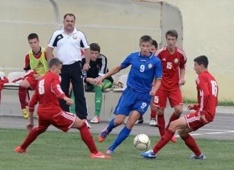 Сборная Молдовы U-17 проиграла шотландцам на Кубке Развития UEFA