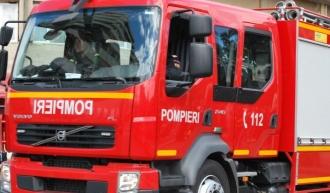 Incendiu în sectorul Buiucani;O mansardă a fost cuprinsă de flăcări
