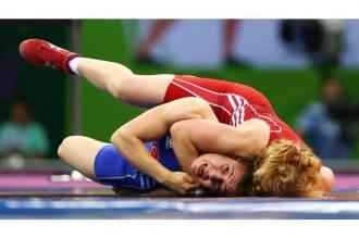Luptătoarea Svetlana Saenko a ratat podiumul de premiere la Europene