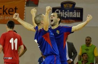 Сборная Молдовы по футзалу одержала победу в первом спарринге с Болгарией