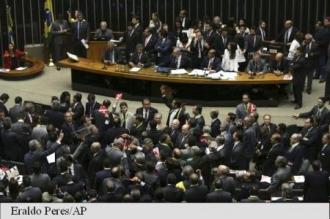 Brazilia: Camera inferioară a parlamentului a lansat procedura de impeachment în cazul președintei Dilma Rousseff