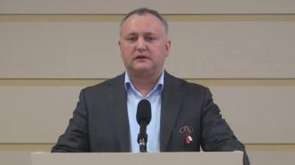 Додон: Хочу посмотреть, как унионист Бэсеску будет присягать на верность молдавской государственности