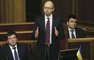 Яценюк в очередной раз отказался добровольно покидать пост премьера