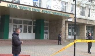 """Alerta cu bombă la liceul """"Gheorghe Asachi"""" din Capitală a fost falsă."""