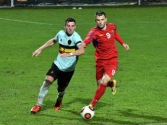 Сборная Молдовы U-21 проиграла молодежной команде Бельгии в отборочном матче ЧЕ-2017