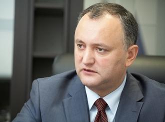 Igor Dodon: Alegerile președintelui trebuie să se desfășoare concomitent cu alegerile parlamentare anticipate