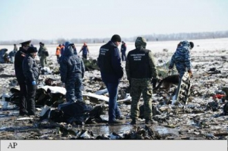 O eroare umană ar putea fi cauza prăbușirii aeronavei Boeing a FlyDubai la Rostov pe Don