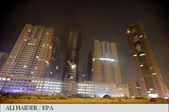 Incendiu de proporții în zgârie-nori din Emiratele Arabe Unite