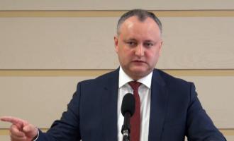 Игорь Додон: Граждан Молдовы заставят дважды заплатить за кражу миллиарда
