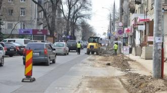 Termenul de finalizare a lucrărilor de reparație a străzii Vasile Alecsandri, amînat din nou.