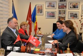 Игорь Додон обсудил с послом Королевства Швеция в Молдове предстоящие президентские выборы