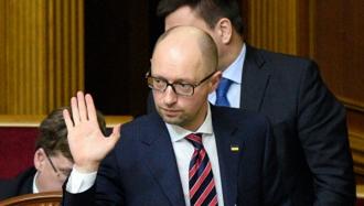 Премьер Украины Арсений Яценюк подал в отставку