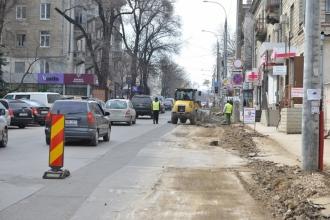 Столичные предприниматели подсчитывают ущерб от ремонта дорог