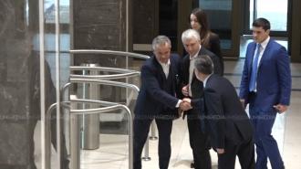 Vladimir Plahotniuc, surprins astăzi în Parlament
