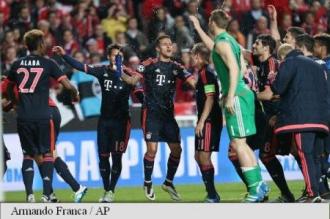 Bayern Munchen, calificare fără emoții în semifinalele Ligii Campionilor, după 2-2 cu Benfica