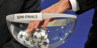 Azi are loc tragerea la sorţi a semifinalelor din UEFA Champions League